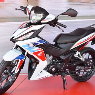 honda RS150 D/P $500 or $0 With out insurance (Terms and conditions apply. Pls call 67468582 De Xing Motor Pte Ltd Blk 3006 Ubi Road 1 #01-356 S 408700.