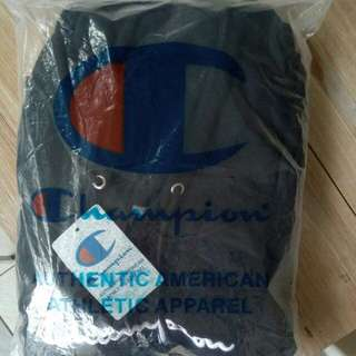 Authentic Champion Hoodie Pullover (black)