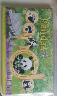 香港大熊貓 小型張