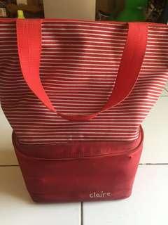 Cooler bag Tas untuk bawa ASI