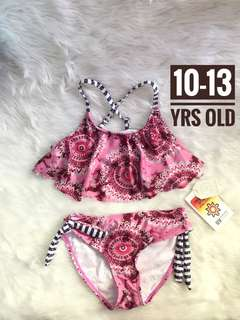 Girl swimsuit swimwear set