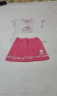 Terno skirt and blouse