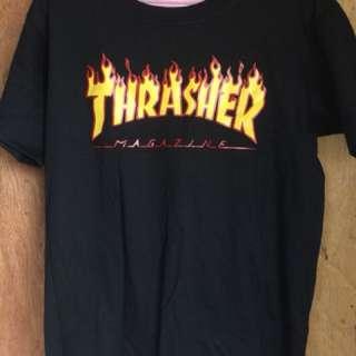 THRASHER SHIRT MEDIUM