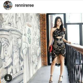 Dress pesta rennireree
