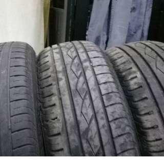 "16"" BMW E90 Tyer + Standard Sport Rims"