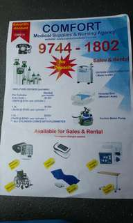 Medical supplies & nursing agency