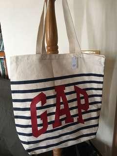 🚚 全新Gap 帆布手提袋 日本帶回