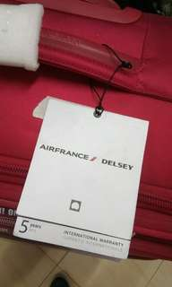 Delsey Travel Luggage