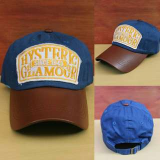 Topi Import Hysteric Blue