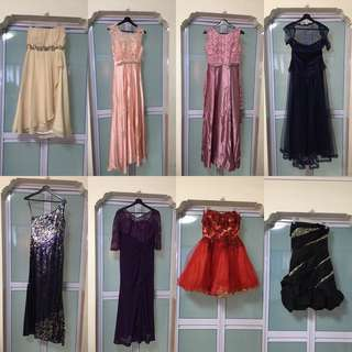Gowns (Clearance: 0081-0088)
