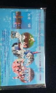 1996香港傷殘 奧運小型張