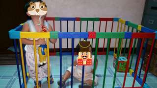 Play Fence Set (Cuddlebug brand)