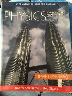 Physics for Scientists and engineers NTU EEE