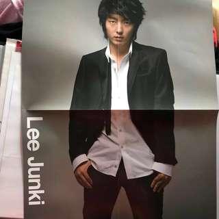 日本雜誌附錄 特大海報 李準基 Lee joon gi