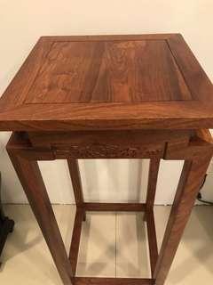 花梨木 高腳桌