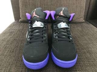 Jordan 5 Retro Fierce Purple 'Raptors'