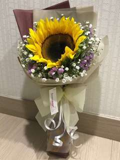 Sunflower Bouquet for Mothers' Day