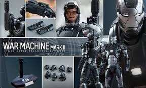 Hot Toys: Iron Man 3 - War Machine Mark II 2 (MMS198 Die-Cast)