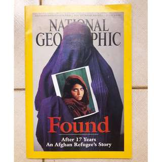 National Geographic - Afghan Girl Found (April 2002)