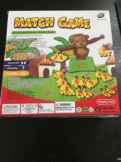 Monkey Match Game 兒童數學運算天秤 知育幼教工具
