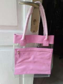 Tote Bag Transparan