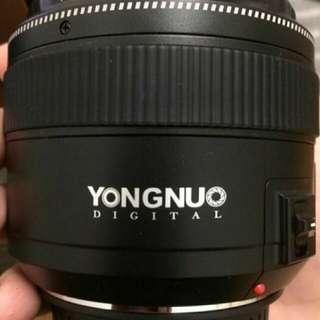 🚚 85mm 1.8 yongnuo