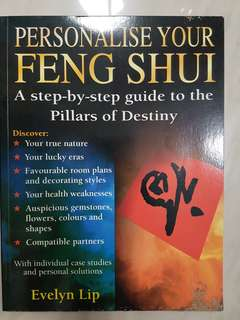 Personalise Your Feng Shui Book by Evelyn Lip