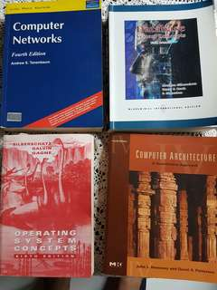 4 Textbooks for Computer Engineering