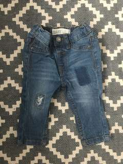 Cotton On Baby distressed pants