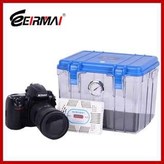 Eirmai Dry Box Humidity Cabinets Camera Sealed Lens + Electronic Dehumidifier