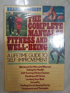 The Complete Manual of Fitness and Well-Being Book by Reader's Digest