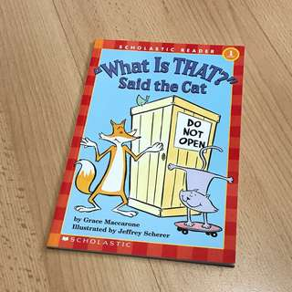 NEW What is that? Said the Cat Storybook for Children