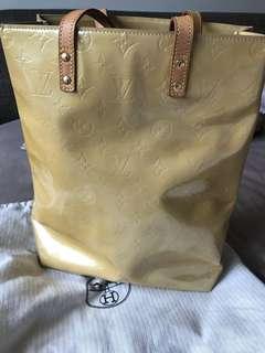 LV patent bag