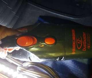 Black & Decker 12V vaccum cleaner