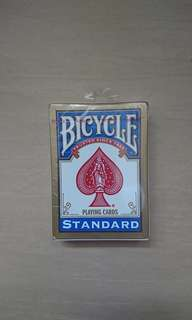 New. Made in USA. Bicycle standard playing cards.