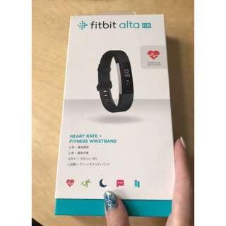🚚 Fitbit alta HR 心率手環(黑)-S 二手 九成新