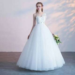 Sequined Wedding Dress