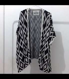 Long outer atau cardigan rajut