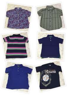 Toddler Polo and T Shirts w/ Collar (Take All)