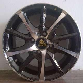 velg auto speed ring 14x6 fcd 4x100 ofset 35