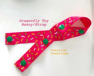 <Instock> Dragonfly Pacifier Clip/Toy Nanny/Strap