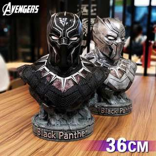 Black Panther Head 1:2 scale