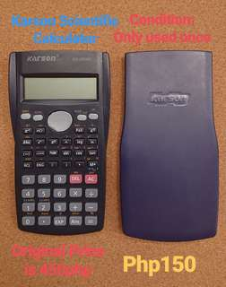REPRICED Karson Scientific Calculator