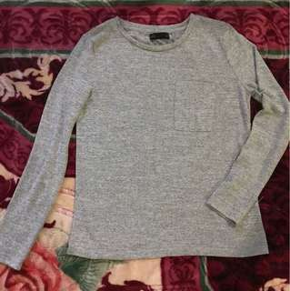 NEW SEED grey top