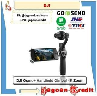 DJI Osmo+ Handheld Gimbal with 4K Zoom Camera - Cash atau Kredit Tanpa Kartu Kredit