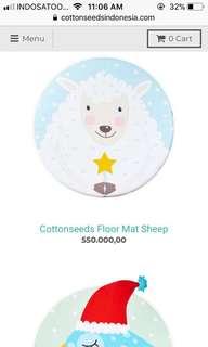 Floor Mat / Play Mat Cottonseeds