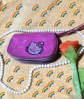 Hello kitty triple wallet