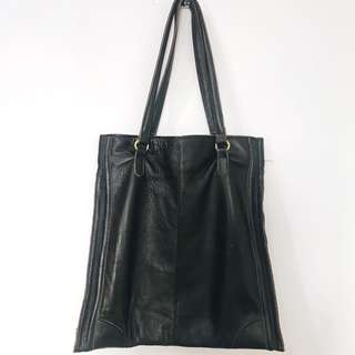 Brown Soft Leather Bag (No Brand)