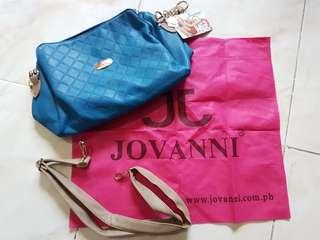 Brand New Jovanni Teal Blue Handbag