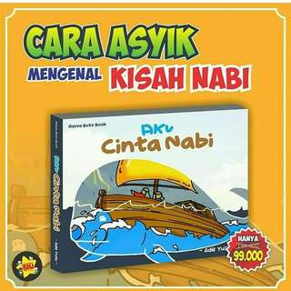 Aku Cinta Nabi - Buku Pop Up - PO